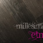 ETNA | Elephant skin, handgeschraapt, olie zwart