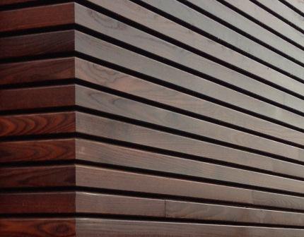 Rhombus hout
