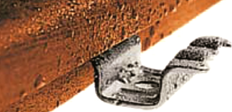 Parketvloer bevestigen clip