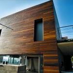 houten gevelbekleding donker