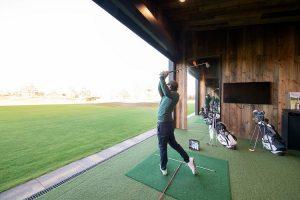 Barnwood gevelbekleding Golfclub Bernardus